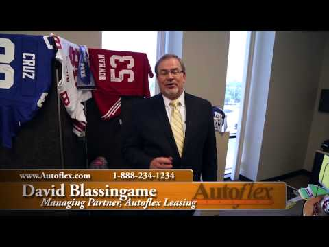 David Blassingame Tours Sports Hall of Fame-Autoflex Leasing-Fort Worth, Texas