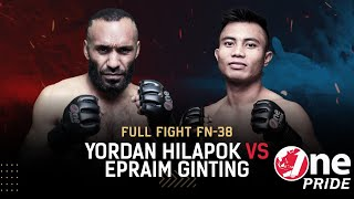 Memukau! 😲 Yodan Hilapok vs Eperaim Ginting || Full Fight One Pride MMA FN #38