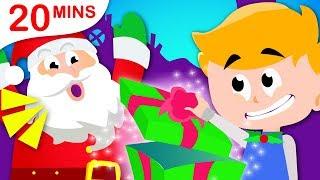 Johny Johny Yes Santa, Yum Yum Healthy Vegetables, Humpty Dumpty | Nursery Rhymes by Little Angel