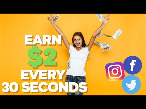Earn $2 Every 30 Seconds! 😲😲🤑 | Make Money Online 2021