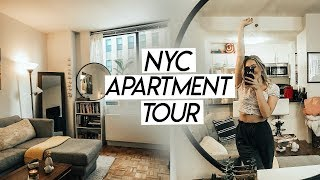 MY NYC APARTMENT TOUR! One Bedroom Brooklyn Apartment Tour!