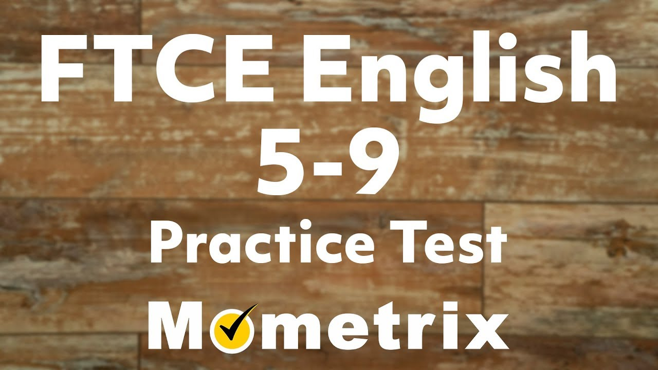 ftce english practice test