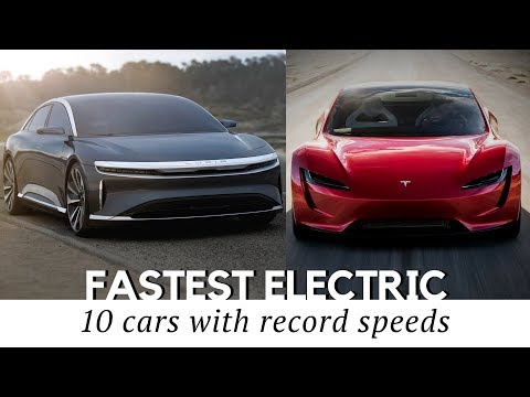 10 Fastest All-Electric Cars That Exist in...