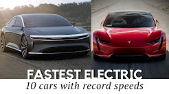 10 Fastest All-Electric Cars That Exist in 2018 (Including New Tesla Roadster)