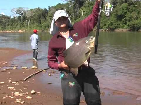 Fishing In Tuichi River - Madidi National Park - Bolivia