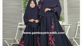 Baju Gamis Couple Ibu dan Anak Murah 081213381472