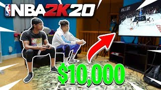 I Played DDG in NBA 2K20 for $10,000... + 1v1 Paul George Tournament