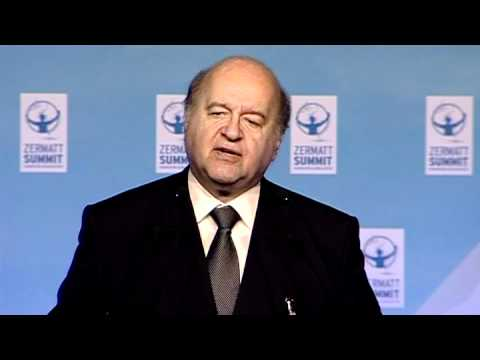 Hernando de Soto LIVe talk on Fairness and Justice in the Economy at Zermatt Summit 2011