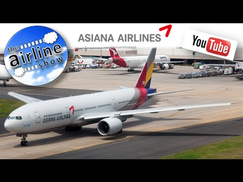 Asiana Airlines | Economy | Boeing 777-200 | Sydney  to Seoul (ICN)