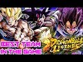 THE BEST BARDOCK TEAM IN THE GAME?!? FLAWLESS PVP! | Dragon Ball Legends