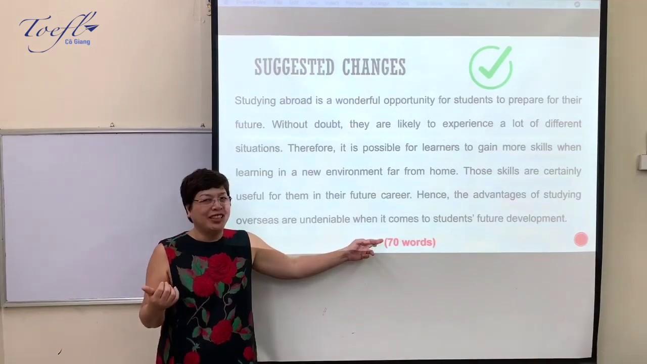 TOEFL WRITING TASK 2: Các lỗi thường gặp & cách khắc phục (Phần 2) - YouTube