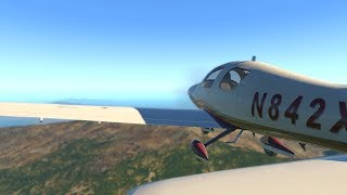 X Plane 11 - Hawaii in a Cessna 400