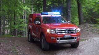 X4 - Vigili del Fuoco Cortaccia e Corona in sirena - Feuerwehr Kurtatsch and Graun in emergency
