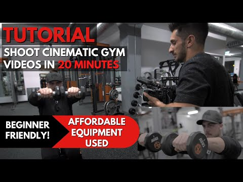 How I Shoot EPIC Gym Videos!💪🏼🎥| Fitness Film Tutorial thumbnail