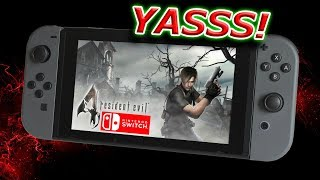 Resident Evil Games Coming To SWITCH! #ResidentEvil4Switch