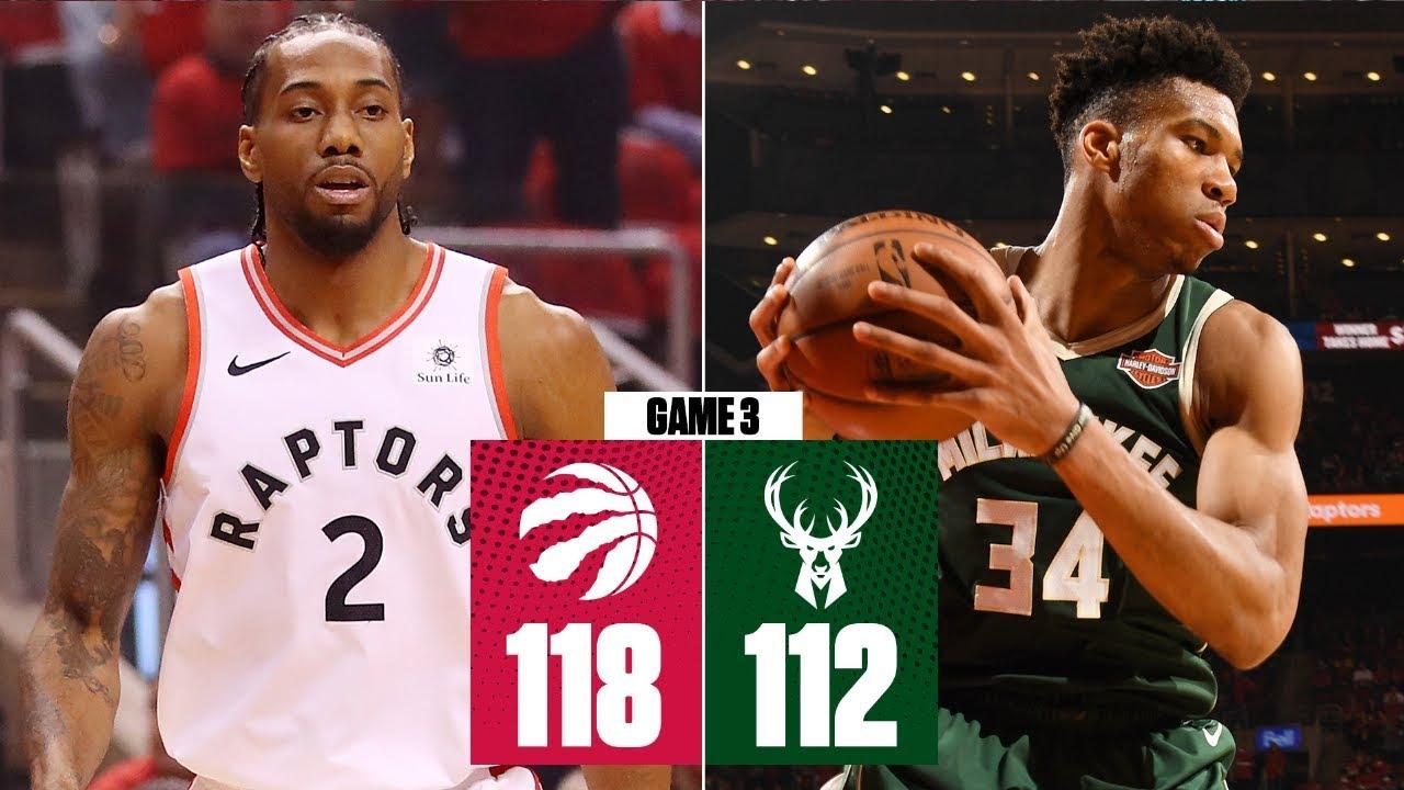 Raptors ride Kawhi Leonard's clutch game for 2OT win in Game 3 | 2019 NBA Playoff Highlights