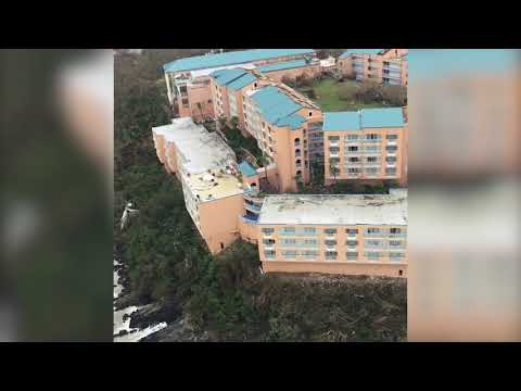 Hurricane Irma damage assessment flight over St. Thomas