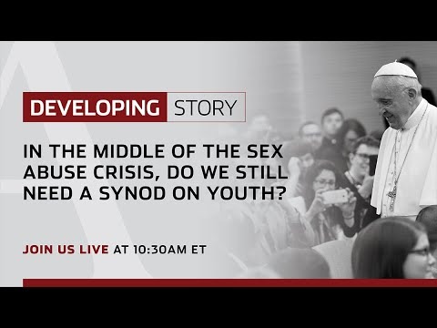 Developing Story | In the middle of the sex abuse crisis, do we still need a Synod on Youth?