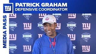 Patrick Graham on 2021 Season Outlook | New York Giants