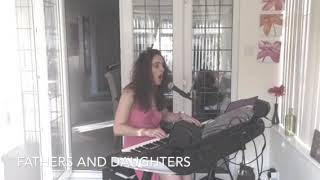 """Fathers and daughters """"Michael Bolton"""" vocal cover on Yamaha Genos"""