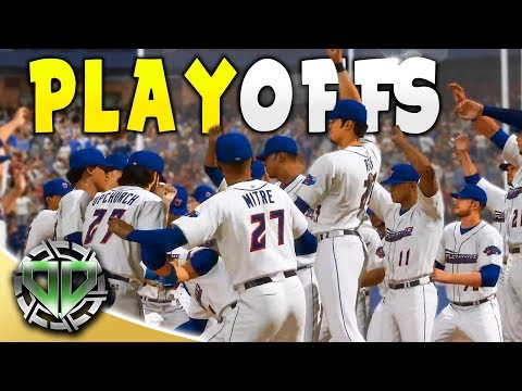 PLAYOFFS SL WORLD SERIES : MLB The Show 18 Gameplay : Career Mode