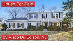 House For Sale: 23 Visco Dr, Edison, NJ 08820 | Soumen Roy & Treanna Martucci
