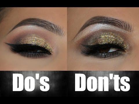 Eyeshadow Do's and Don'ts!      Amys Makeup Box
