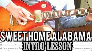 Lynyrd Skynyrd - Sweet Home Alabama Intro Guitar Lesson (With Tabs)...