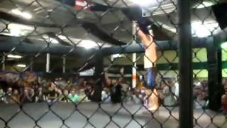 MMA Referee Knocks Out A Fighter