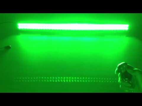 415 inch white and green strobe light bar vivid light bars youtube 415 inch white and green strobe light bar vivid light bars aloadofball Choice Image