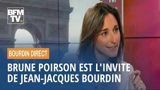 Brune Poirson est l'invitée de Jean-Jacques Bourdin