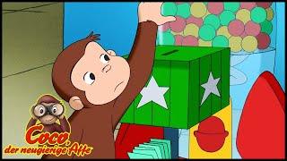 Coco der Neugierige Affe 🐵 Viele, viele Flummis 🐵 Ganze Folgen 🐵 Cartoons für Kinder🐵 Staffel 3