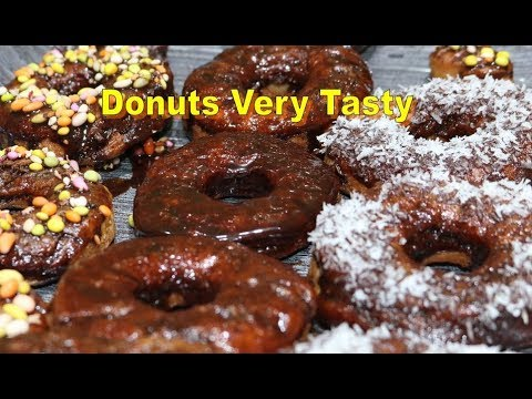 donuts Very Tasty | doughnut (dish) | Donuts with yeast| Doughnut recipe| Chocolate Donuts