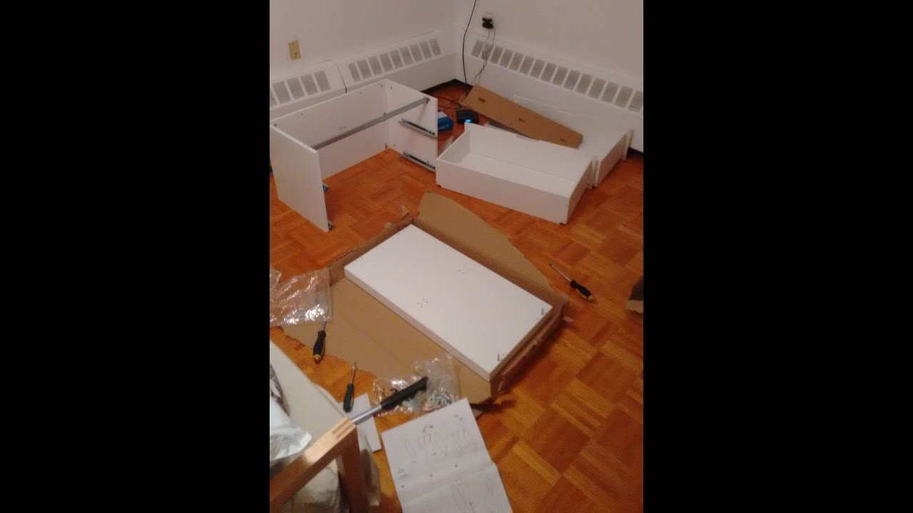 Ikea Furniture Assembly Party Youtube