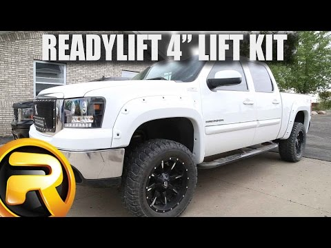 "How to Install ReadyLIFT SST 4"" Lift Kit"