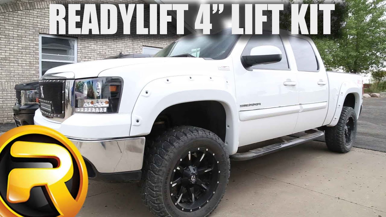 "How to Install ReadyLIFT SST 4"" Lift Kit - YouTube"