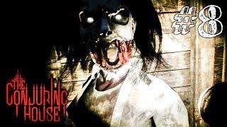 СКРИМЕР ЗА СКРИМЕРОМ! ► The Conjuring House Прохождение #8 ► ИНДИ ХОРРОР ИГРА