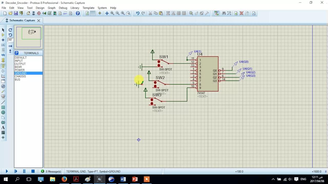 hight resolution of 8 priority encoder