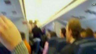 Caught on camera: American Airlines flight attendant rant