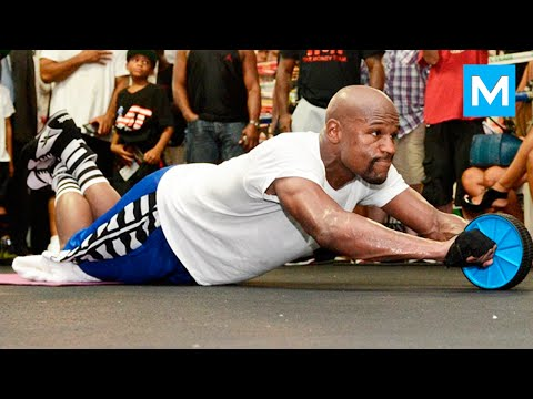 Thumbnail: Floyd Mayweather Training Highlights 2016 | Muscle Madness