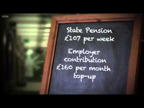 BBC One Show - Pensions