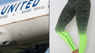 United Airlines Bars 2 Women From Boarding Flight For Wearing Leggings|United Airlines Leggings