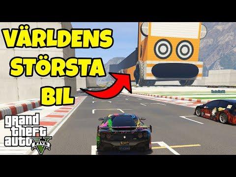 STÖRSTA BILEN I GTA 5  Race med SoftisFFS