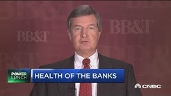 Huge increase in mortgage refinancing: BB&T CEO