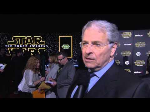 Star Wars - The Force Awakens: Writer Lawrence Kasden Red Carpet Interview
