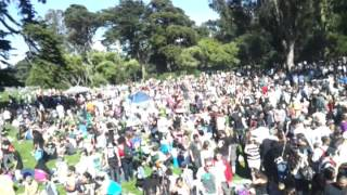 420 festival in san francisco 2012 Best View!!! Hippie Hill April 20th