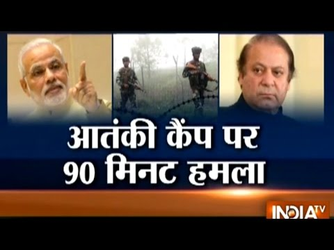 Watch 90 Minutes Surgical Strike of Indian Army in Pakistan along LoC