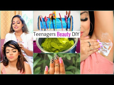 6 BEAUTY Essentials DIY for TEENAGERS .. | #Haircare #Skin #ShrutiArjunAnand #Anaysa #DIYQueen thumbnail