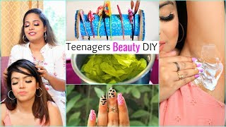 6 BEAUTY Essentials DIY for TEENAGERS .. | #Haircare #Skin #ShrutiArjunAnand #Anaysa #DIYQueen