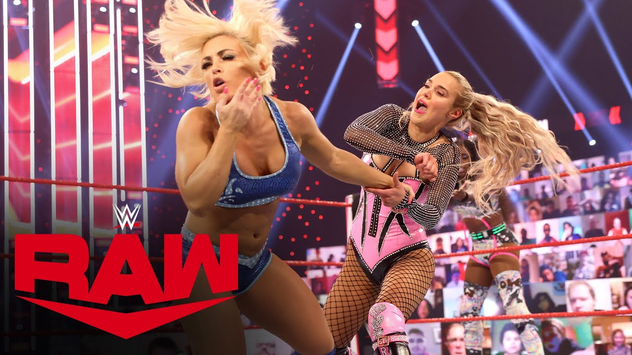 Naomi & Lana vs. Mandy Rose & Dana Brooke: Raw, Feb. 22, 2021
